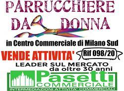 Splendido PARRUCCHIERE DONNA in c/c in Milano Sud