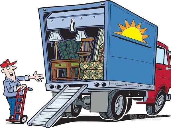 Traslochi, noleggio furgone, sgomberi