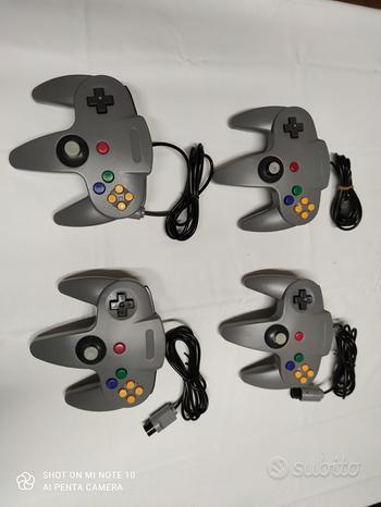 2 controller Nintendo 64 nuovi