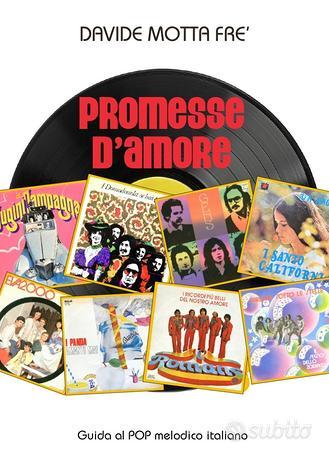 PROMESSE D'AMORE libro ITALIAN PROG POP OBSCURE
