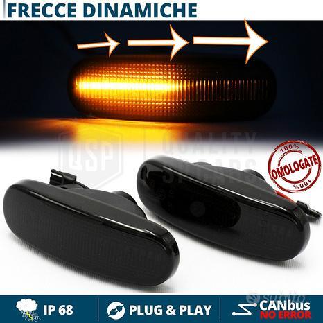 Frecce LED Laterali Dinamiche per Fiat Nere CANBUS