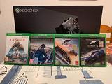 Xbox one X 1TB più quattro giochi
