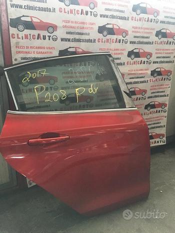 Porta post dx Peugeot 208 2017