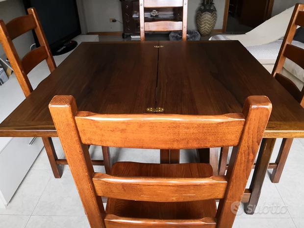 Tavolo fratino e sedie