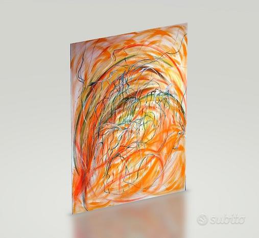 Dipinto su tela 100 x 120 cm