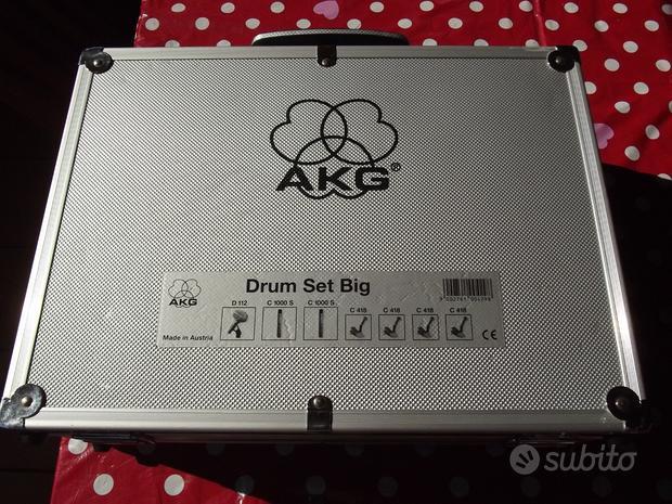 AKG KIT Microfoni Batteria Drum Set Big + Samson C