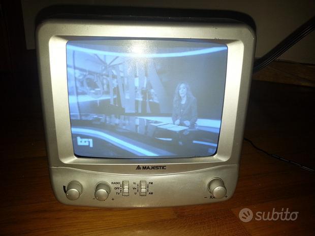 Tv portatile 7 pollici con radio Majestic