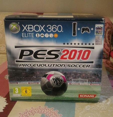 Xbox 360 Elite Con scatola Gioco pes 2010 BUNDLE
