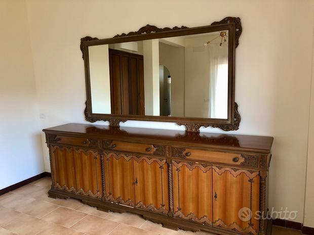 Mobile Sideboard con specchio - Credenza buffet