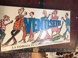 Ventisette gioco da tavolo di società vintage
