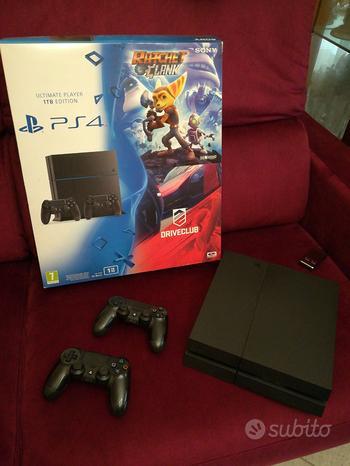 PS4 1TB doppio controller e 6 giochi originali