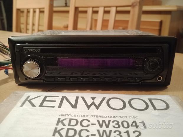Autoradio Kenwood KDC-W241 CD MP3 Toyota Aygo