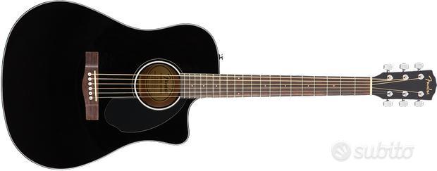 Fender CD60SCE CHITARRA ACUSTICA ELETTRIFICATA NER
