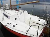 Barca a vela Altura 5, motore 4 tempi 2,5 cv