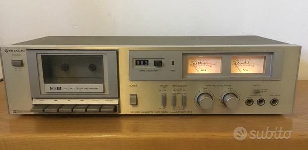 Registratore a cassette piastra Hitachi D-22s MKII