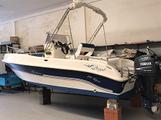 Barca open 570 motore 4 tempi senza patente