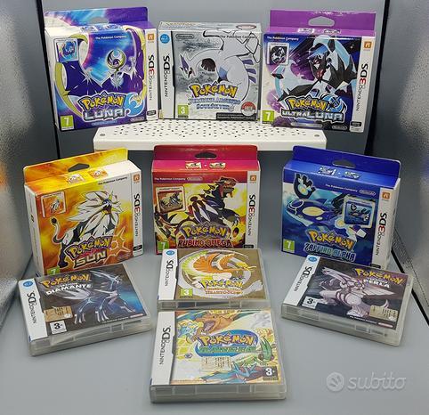 Lotto giochi console nintendo ds 2ds 3ds pokemon
