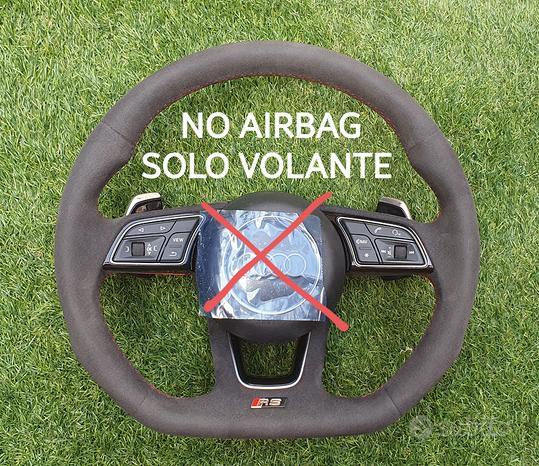 Volante Piatto Audi RS S Alcantara Totale Original