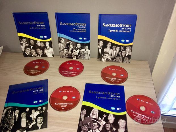 5 DVD + BOOKLET SANREMO Story