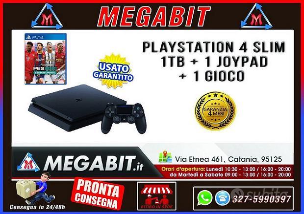Playstation 4 SLIM 1Tb + 1 Joypad + PES 2021 dig