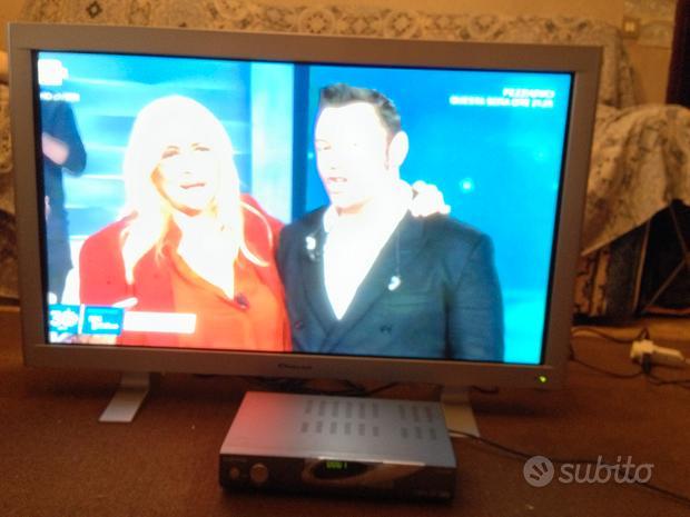 """TV PLASMA da 42"""" QUASAR MM4210 + DECODER DTB-9500F"""