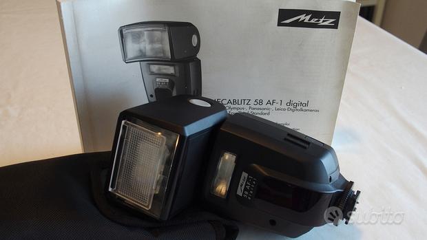 Flash Metz 58 AF-1 Digital per Olympus