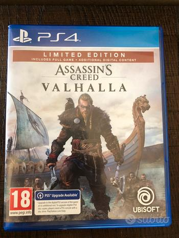 Assassin's creed valhalla ps4/ps5 limited edition