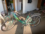 3 bici da donna usate
