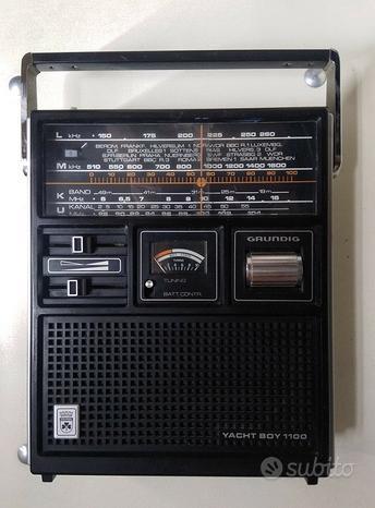 Grundig YachtBoy 1100 radio 4 bande con timer