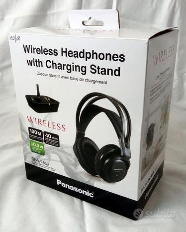 Cuffie stereo wireless PANASONIC RP-WF830