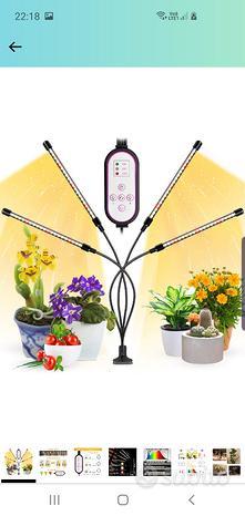 Lampada per piante Coltivazione 80 led