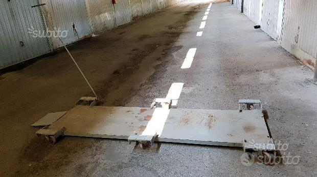 Pedana piattaforma carrello