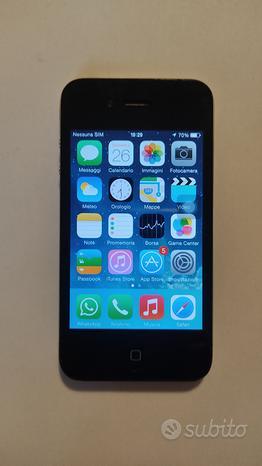Cellulare iPhone 4 nero 16 gb