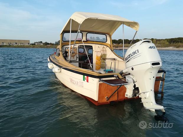Barca,Motore nuovo Giugno21,Carrello omologato