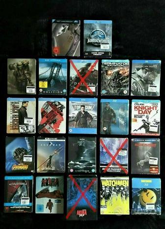 FILM BLU-RAY 4K STEELBOOK Slipcase DVD-PS5-XBOX