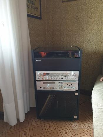 Impianto HI-FI Grundig vintage anni 80'
