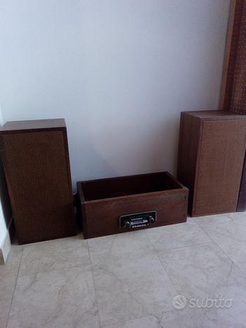 Autoradio Pioneer vintage + 2 casse acustiche