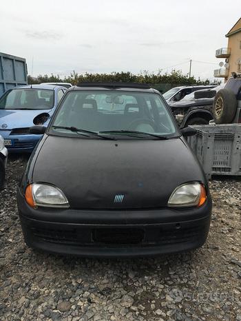 Ricambi Fiat 600 1.1 benz 54cv del 2000