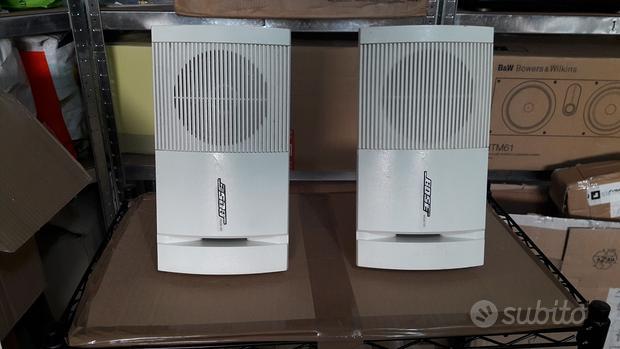 2 Diffusori BOSE MODEL 100 Casse Cube Speakers