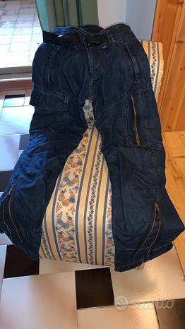 Jeans donna originali BMW con protezioni taglia XS