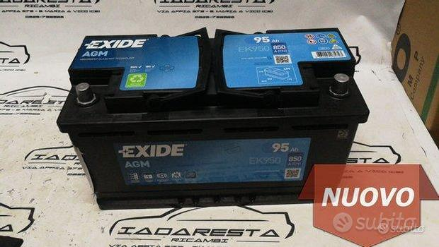 Batteria AGM Exide 12v - 95a - 850 En EK950