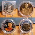 Monete medaglie Argento Bronzo Papa Luciani e GPII