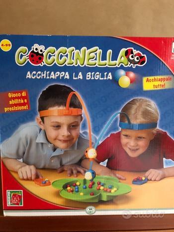 Coccinella (acchiappa la biglia)+Crea l'Arcobaleno