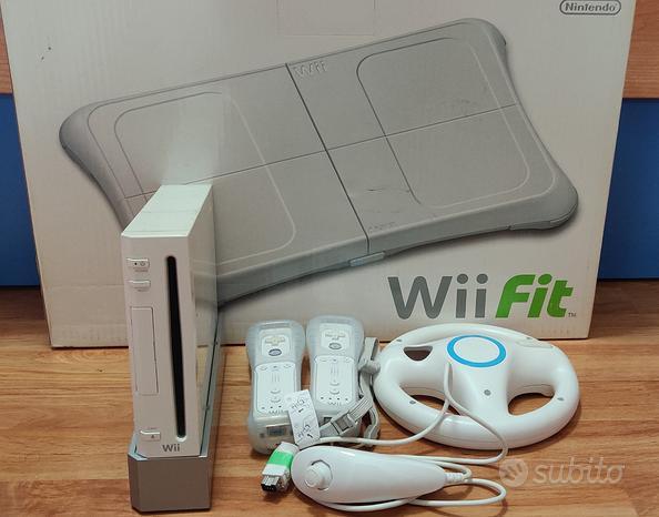 Console Nintendo Wii+Balance board+5 giochi- USATO