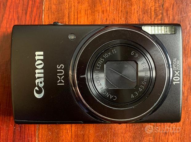 Canon ixus 190 fotocamera compatta-nera. 20 megapi