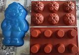 3 Stampi in silicone per dolci