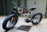 Fat Mtb E-bike Moto Parilla Carbon