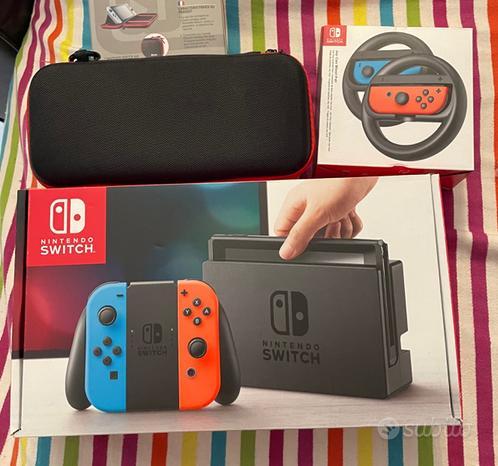 Nintendo switch giochi accessori