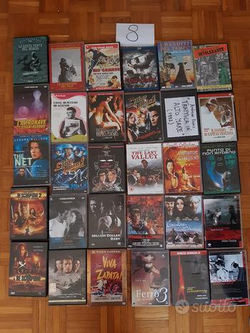 DVD usati film vari serie TV cofanetti lotto U-Z