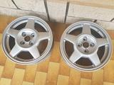 2 cerchi 4x100 R 15 POLLICI ENKEI Mazda mx-3